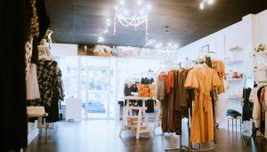 Empty clothes store web design Toowoomba